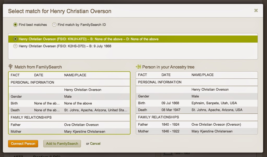 legacy family tree import gedcom