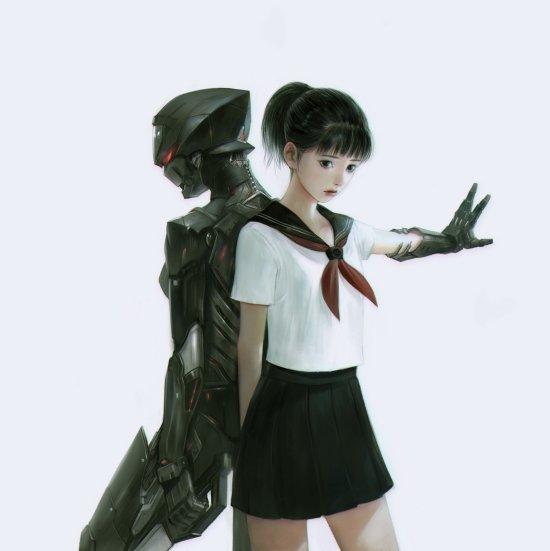 Lee Jung-Myung rupid79 artstation arte ilustrações fantasia ficção games