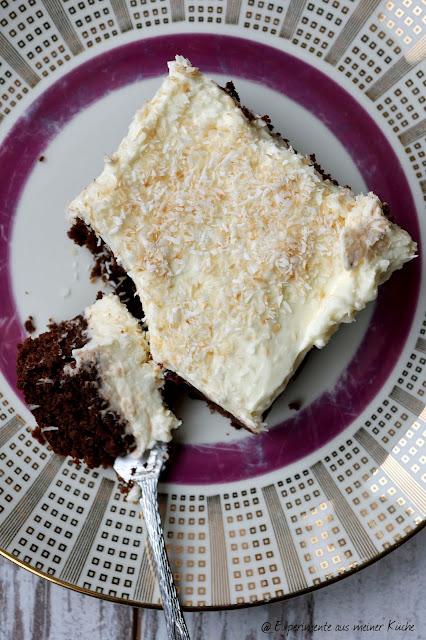 Experimente aus meiner Küche: Kokos-Brownie