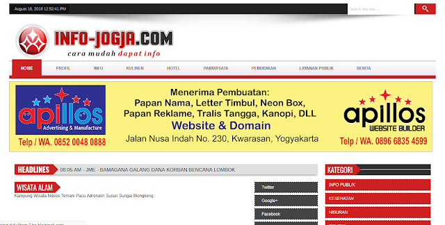 Portal Infojogja.com