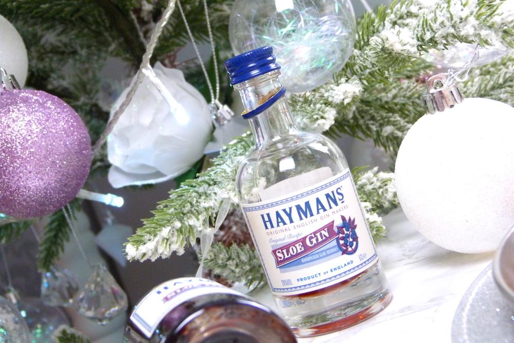 an image of Sunken Chocolate and Sloe Gin Cake with Hayman's Gin