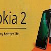 Resmi di Umumkan Nokia 2 Hadir Dengan Layar 5 Inci dan Baterai Jumbo 4.100mAh