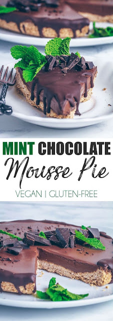 CHOCOLATE MINT MOUSSE PIE