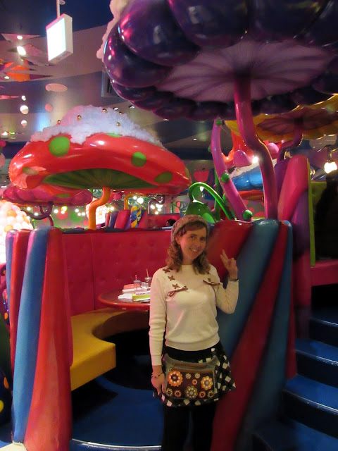 Tatiana en el Kawaii Monster Cafe