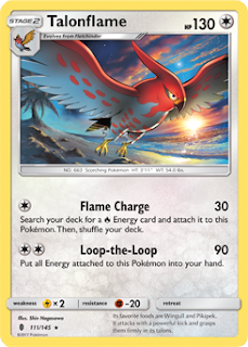 Talonflame Guardians Rising Pokemon Card
