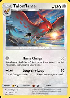 Talonflame Guardians Rising Pokemon Card