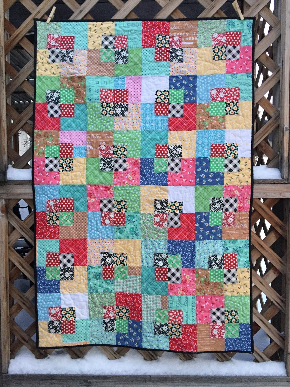 Val's Quilting Studio: Five and Dime Quilt Finish : five and dime quilt - Adamdwight.com