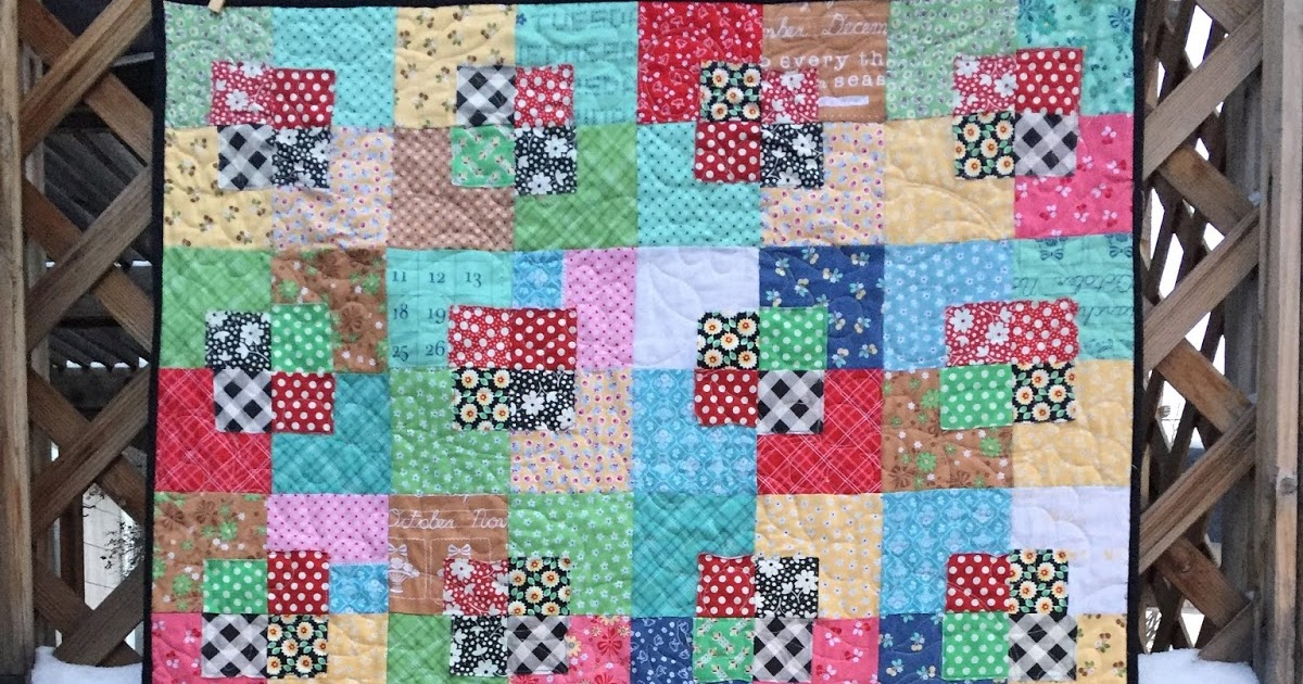 Val S Quilting Studio Five And Dime Quilt Finish
