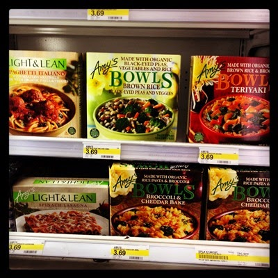 Vegan Vegetarian Food Groceries Frozen Dinners at Target Amy's Frozen Meals