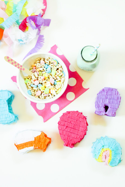 DIY lucky charm piñatas for St. Patrick's Day