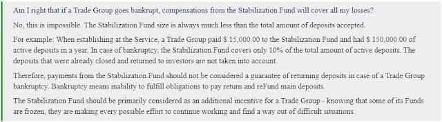 pelaburan bitcoin chain group escrow service scam