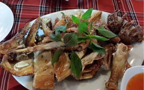 Món gà ở 8 Phước thịt rất ngon