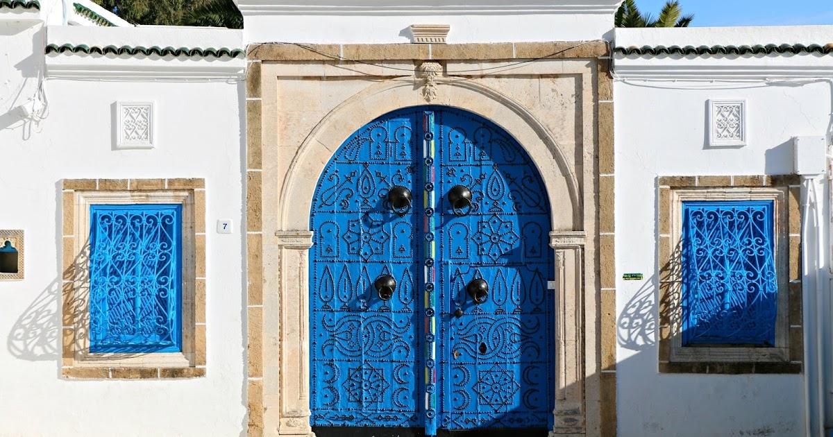 Sidi bou said il paradiso delle porte for Decoration porte sidi bou said