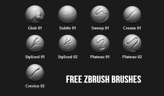 Free ZBrush brushes | Computer Graphics Daily News