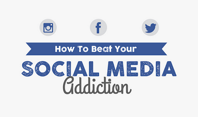 How to Defeat a Social Networking Addiction (infographic)
