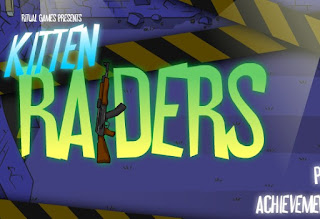 Play Free Kitten Raiders Awesome Defend Online Games