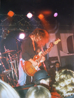 "TT Quick at The Playpen Lounge Route 35 North Sayreville, New Jersey... Halloween October 31, 1990 during the recording of the ""Thrown Together Live"" album. Fuckin' awesome!!"