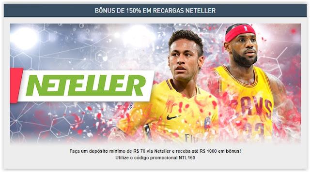 Fim da Neteller no Brasil - Aproveite o Bônus de 150% da Premiwin