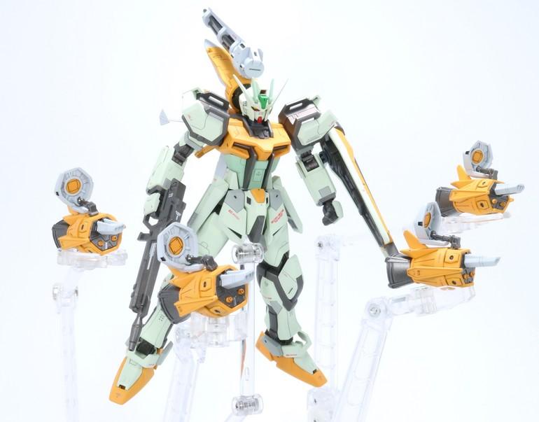 Gundam For The Barrel: Custom Build: HG 1/144 Gunbarrel Strike Gundam [Miguel