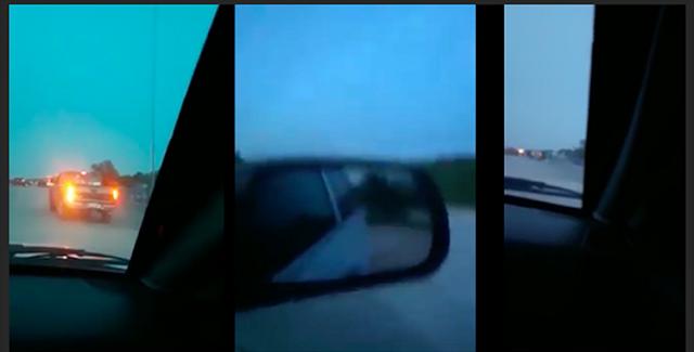 """VIDEO; Convoy de sicarios de CDG se """"Siguen dando y no dan tregua"""" en Reynosa."""