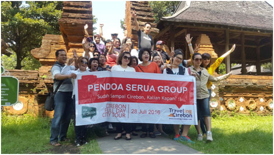 Paket Wisata Cirebon 1 Hari Pendoa Serua Group
