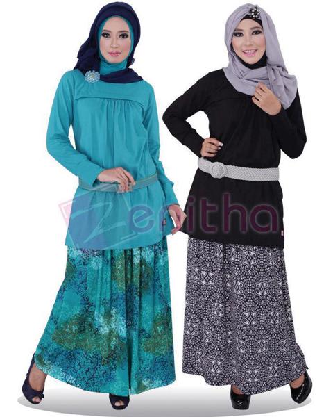 model baju blus muslim