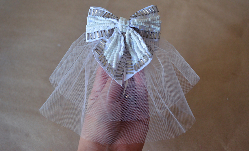 Shine Trim: Wedding DIY: Two Tier Hair Bow