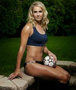 Pesepak bola wanita tersexy