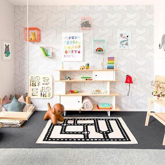 mobiliario para decorar habitación infantil con el método Montessori lowcost