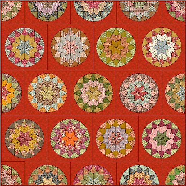 Laura Quilt Amersfoort.Esther S Design Blog Stash Busting Stars