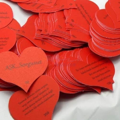 Kalpli Kartlarda 100 Dilde Seni Seviyorum Sözleri