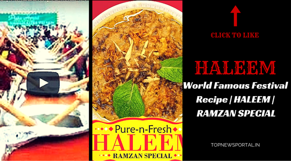 World Famous Festival Recipe   HALEEM   RAMZAN SPECIAL