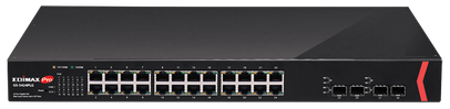 Edimax offers True Deployment Flexibility with New GS-5424PLG Web Smart PoE+ Switch