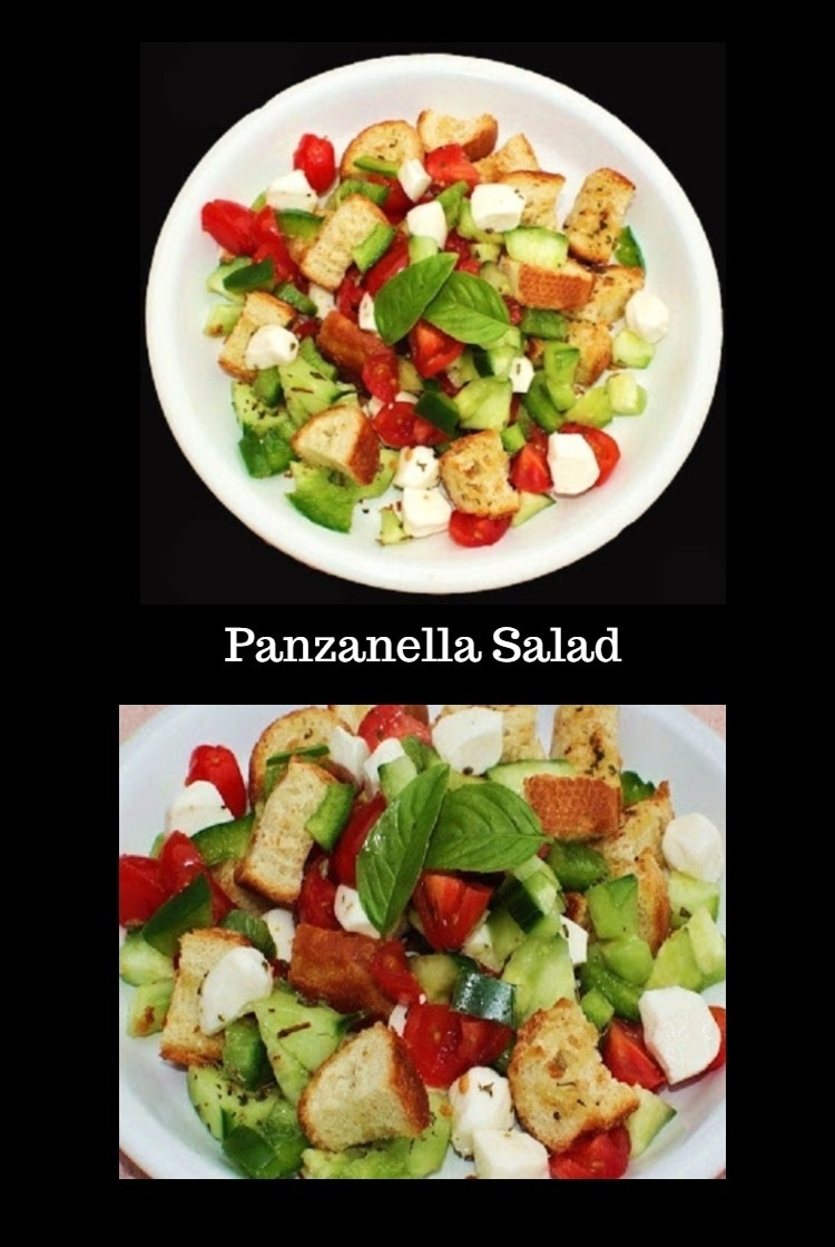 This is an Italian delicious salad with tomato, croutons, salad, italian, dressing,