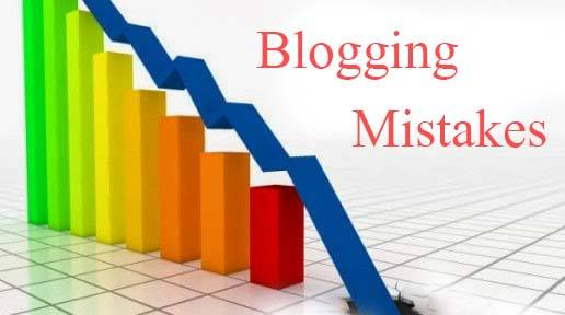 mistake that can destroy blogging career