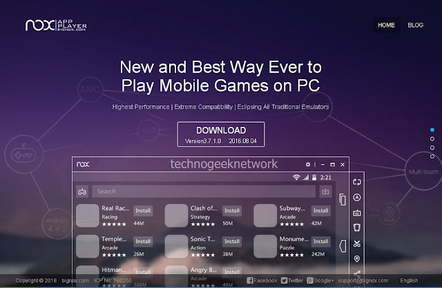 Best Alternative for BlueStacks Android App Player [Nox APP Player]