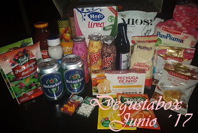 Degustabox Junio´17 ¡VERANO!