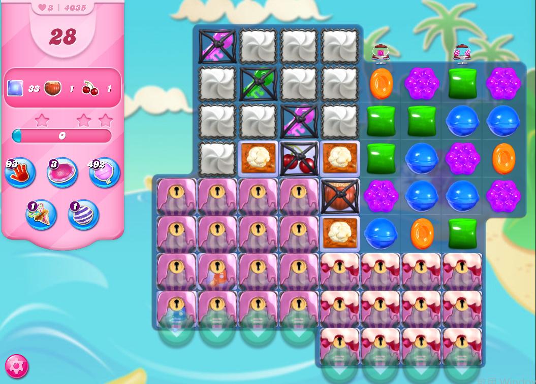 Candy Crush Saga level 4035