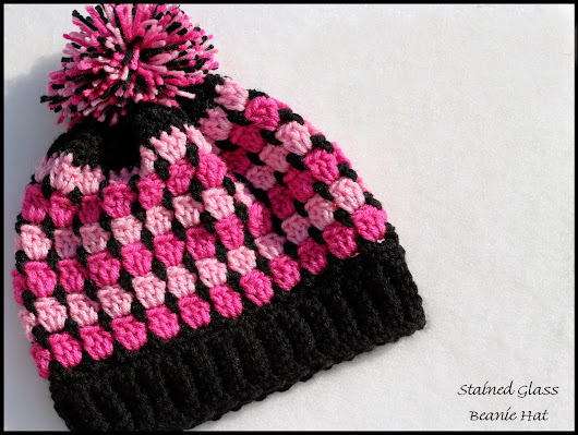Stained Glass Beanie ~FREE PATTERN~