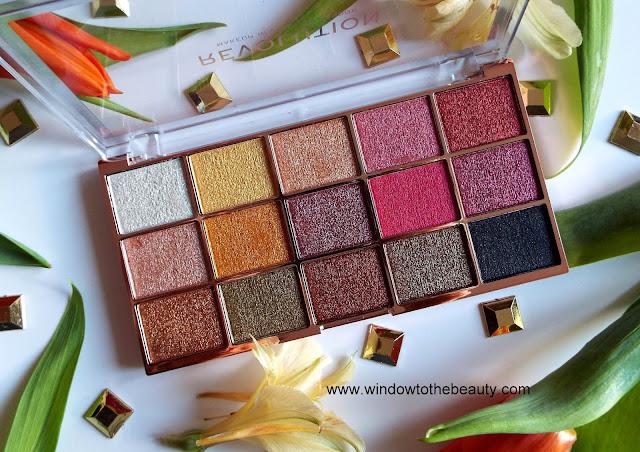 new Revolution Foil Frenzy Palette review