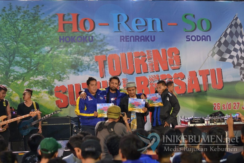 Touring Suzuki Bersatu Sukses Hadirkan Ribuan Bikers