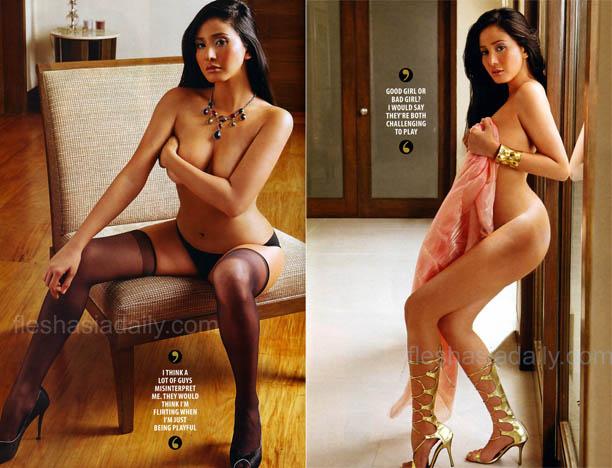 Actress Pants Katrina Halili Is Topless-4209