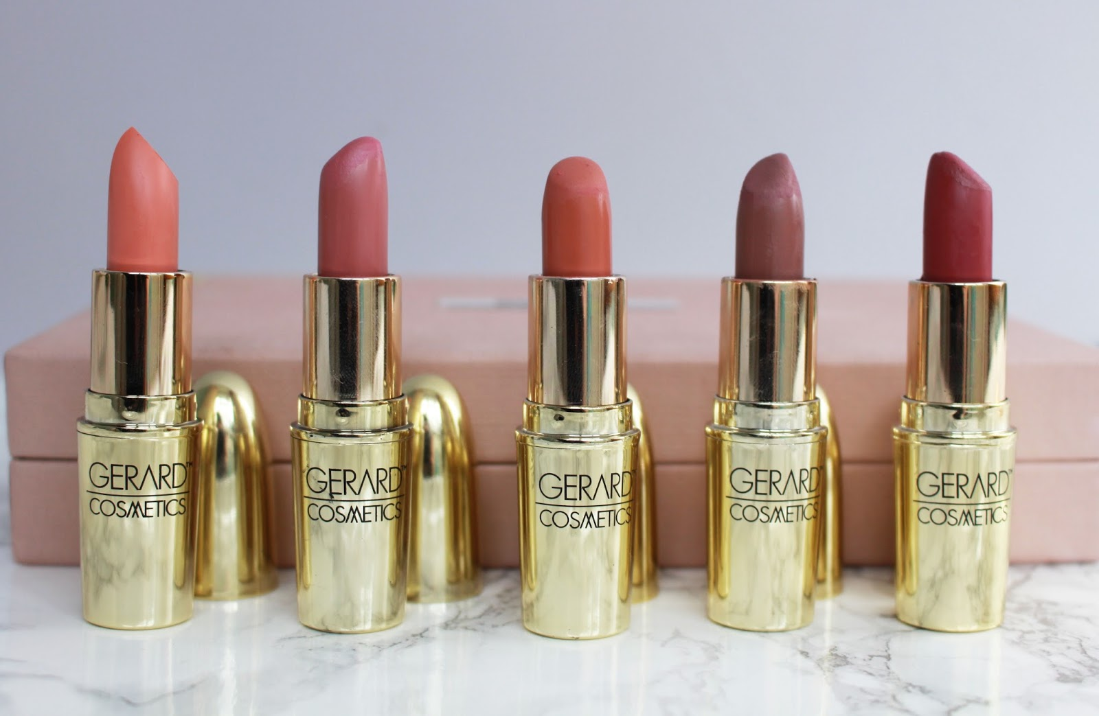 Gerard Cosmetics UK, Lipstick swatches, gerard cosmetics swatches, budget beauty, best nude lipstick