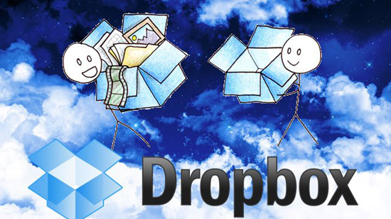 Dropbox simpan fail online