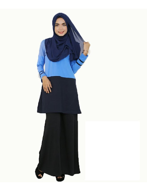 BAJU MUSLIMAH 2 WARNA  - SOLD OUT