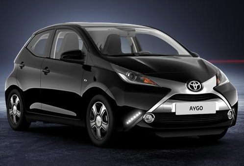 toyota aygo ii 2018 couleurs colors. Black Bedroom Furniture Sets. Home Design Ideas
