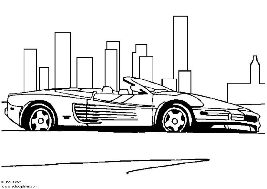 Stemma Ferrari Da Colorare Disegno Lamborghini 05 Personaggio
