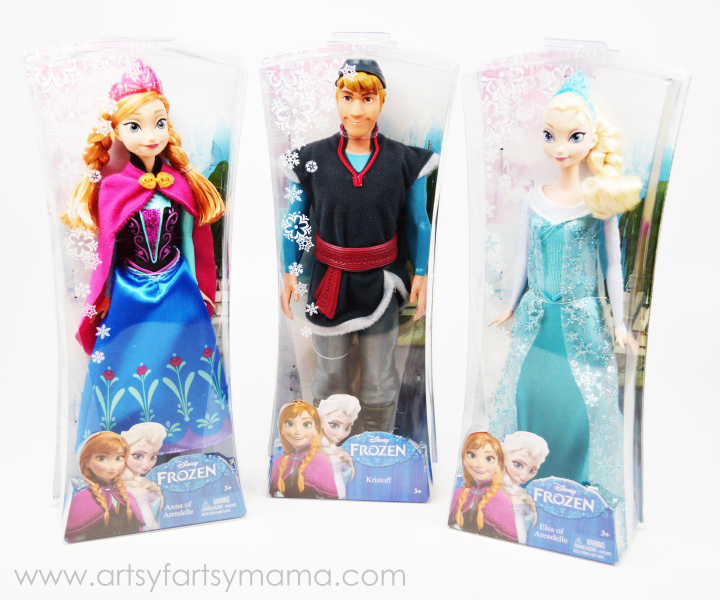 Disney FROZEN Toys now at Walmart on artsyfartsymama.com #FrozenFun #shop #cbias