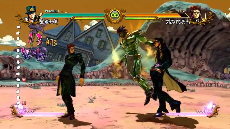 Chokocat's Anime Video Games: 2673 - JoJo's Bizarre Adventure (Sony PlayStation 3)