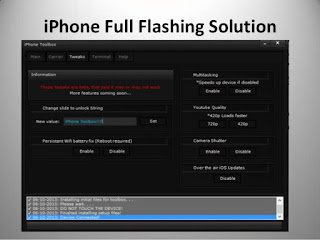 iPhone Flashing Software (Flash Tool) Latest Version V3.0 Free Download
